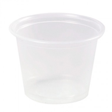 Plastic Souffle/Portion Cups