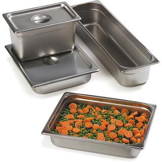 Steam Table Pans & Lids