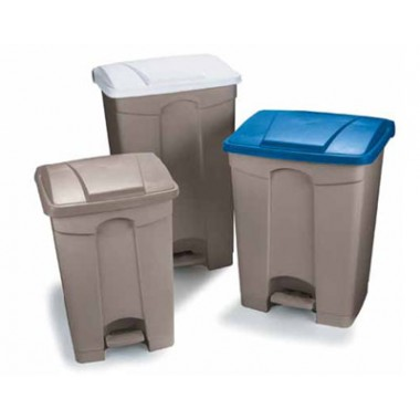 Step-On Trash Containers