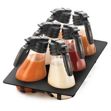 Salad Dressing Dispensers